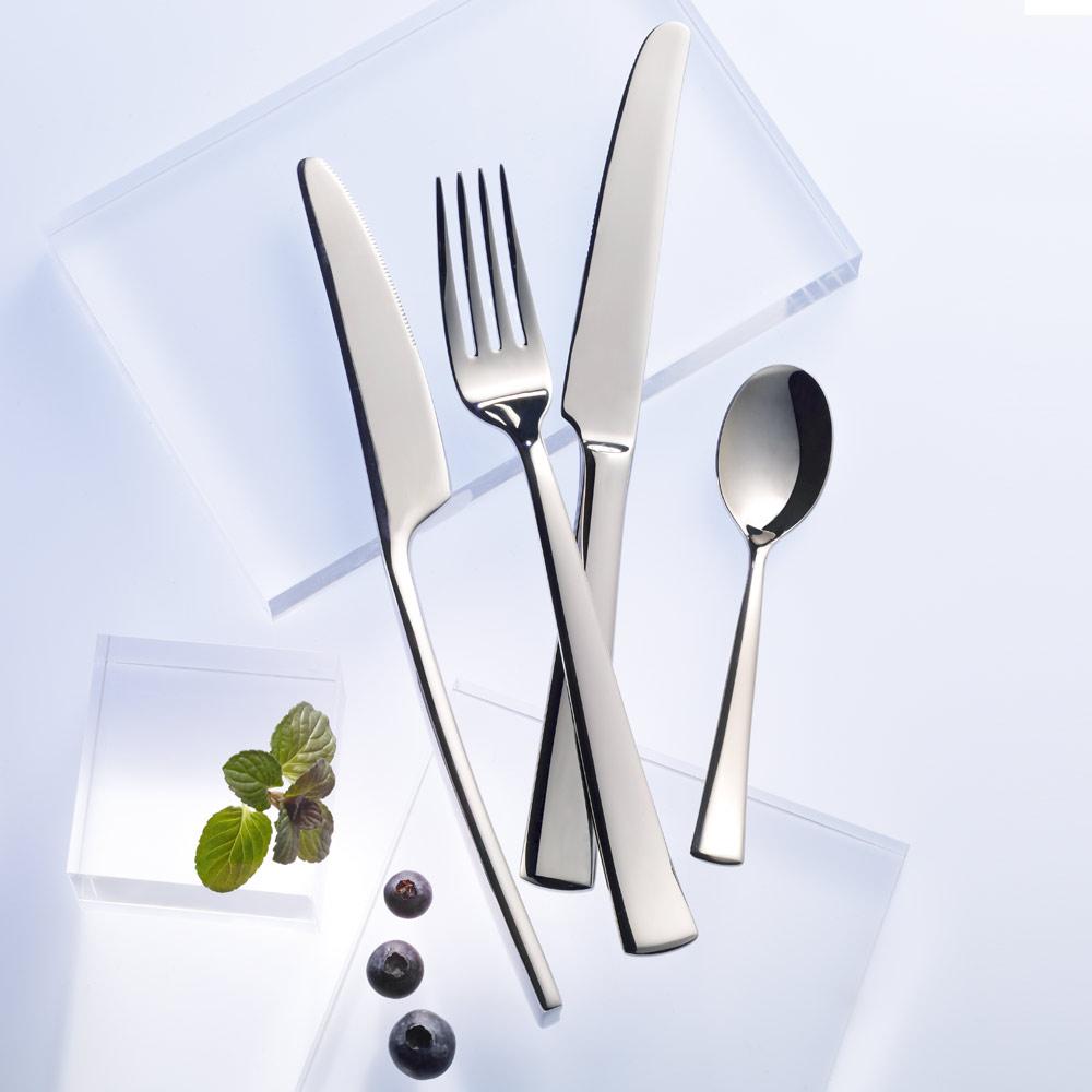 hotel dessertgabel 18 cm edelstahlbesteck modern. Black Bedroom Furniture Sets. Home Design Ideas