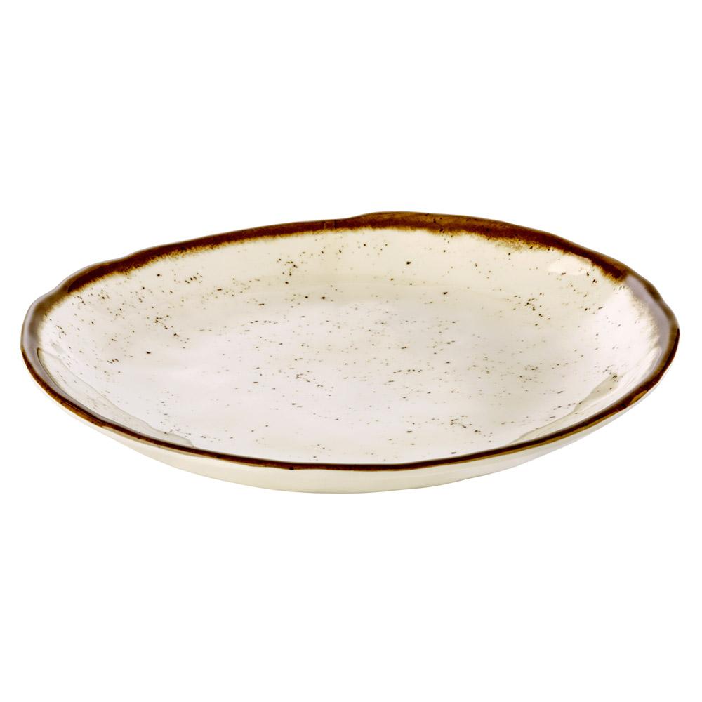 APS Schale -Leaf- Melamin wei/ß 42 x 19,5 cm 1 Liter H: 6,5 cm