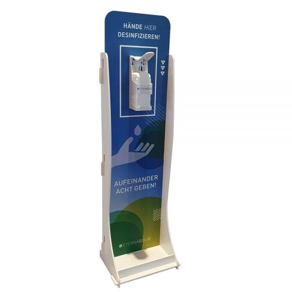 ECO Desinfektionsmittelständer mit Armhebelspender für 1l (mit Spender)