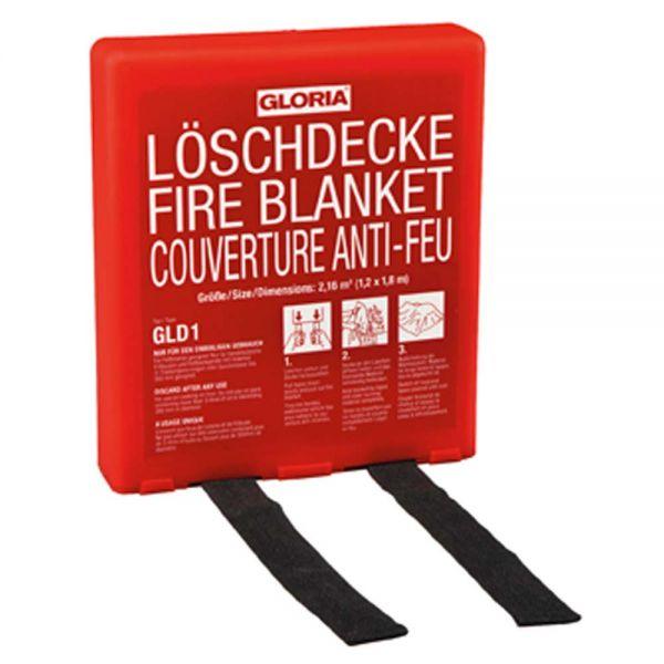 Feuerlöschdecke - 120 x 180 cm (Typ GLD 1)