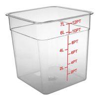 Vorratsbehälter square deckel weiß für vorratsbehälter 1 5 3 5 l vorrats