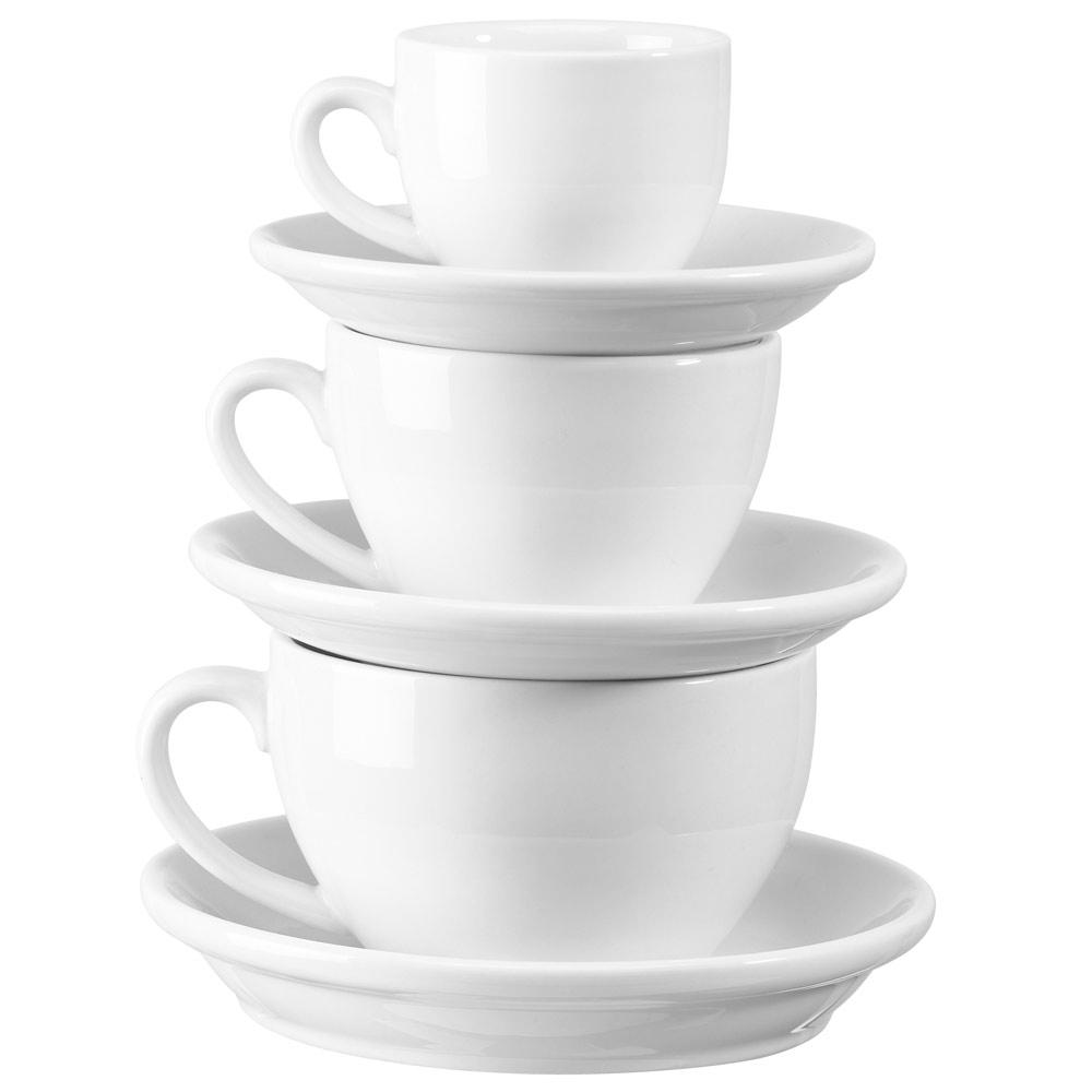 classico milchkaffeetasse inhalt 34 cl untere 16 0 cm tassen und henkelbecher geschirr. Black Bedroom Furniture Sets. Home Design Ideas