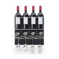 Flaschen-Bar S - 8 Flaschen / 4 Gläser - Anthrazit href=
